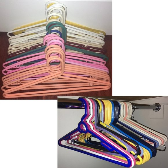 31 Tubular Hangers, Assorted Styles & Colors